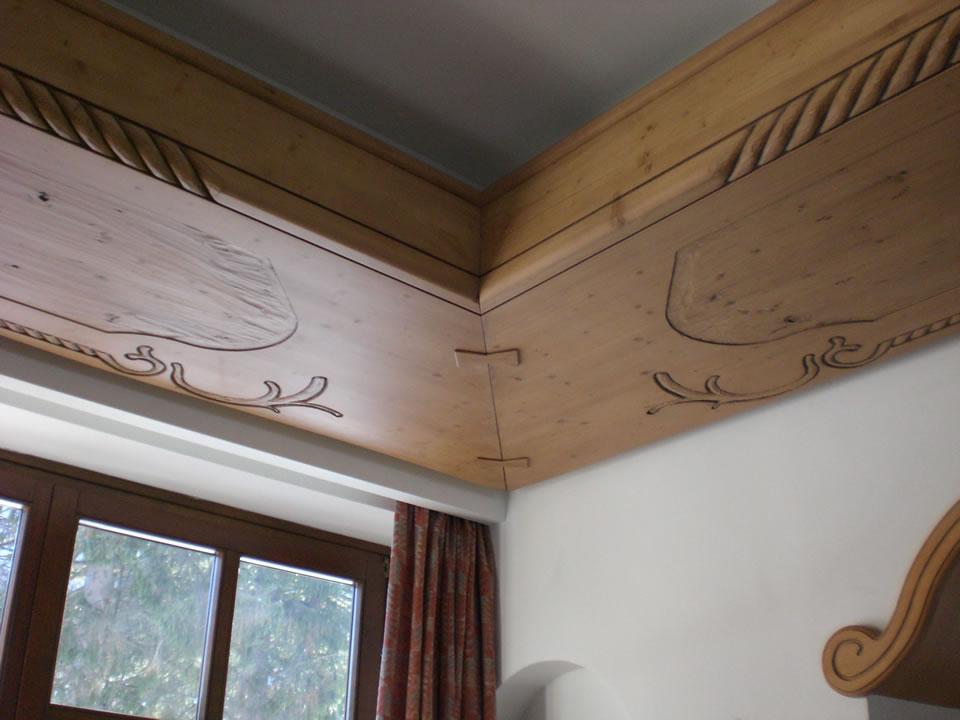controsoffitto12 Controsoffitti in legno