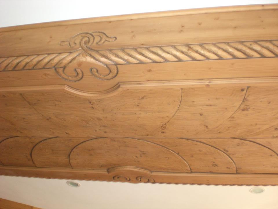 controsoffitto13 Controsoffitti in legno