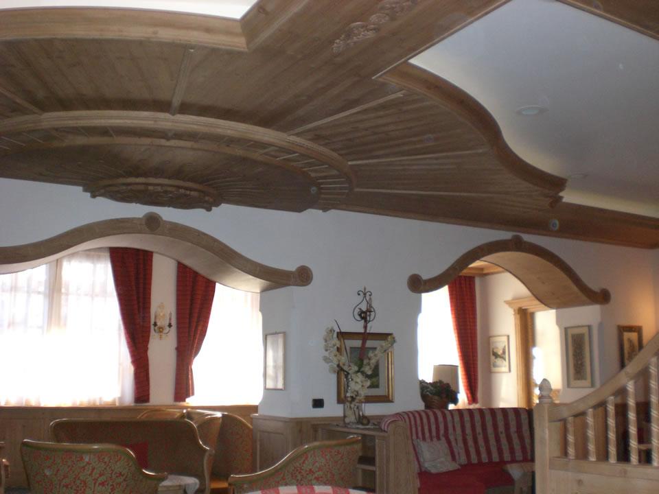 controsoffitto15 Controsoffitti in legno