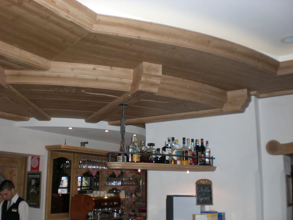 controsoffitto16 Controsoffitti in legno