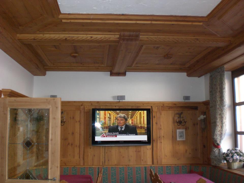 controsoffitto17 Controsoffitti in legno