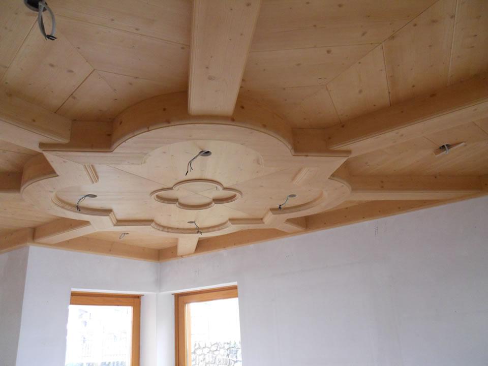 controsoffitto22 Controsoffitti in legno