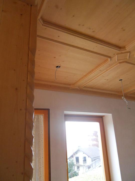 controsoffitto25 Controsoffitti in legno