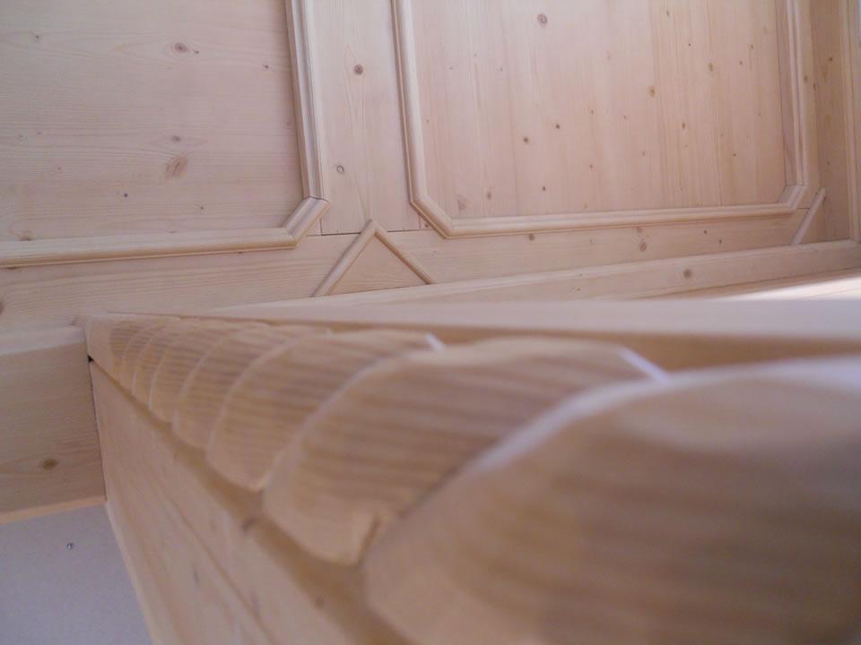 controsoffitto26 Controsoffitti in legno