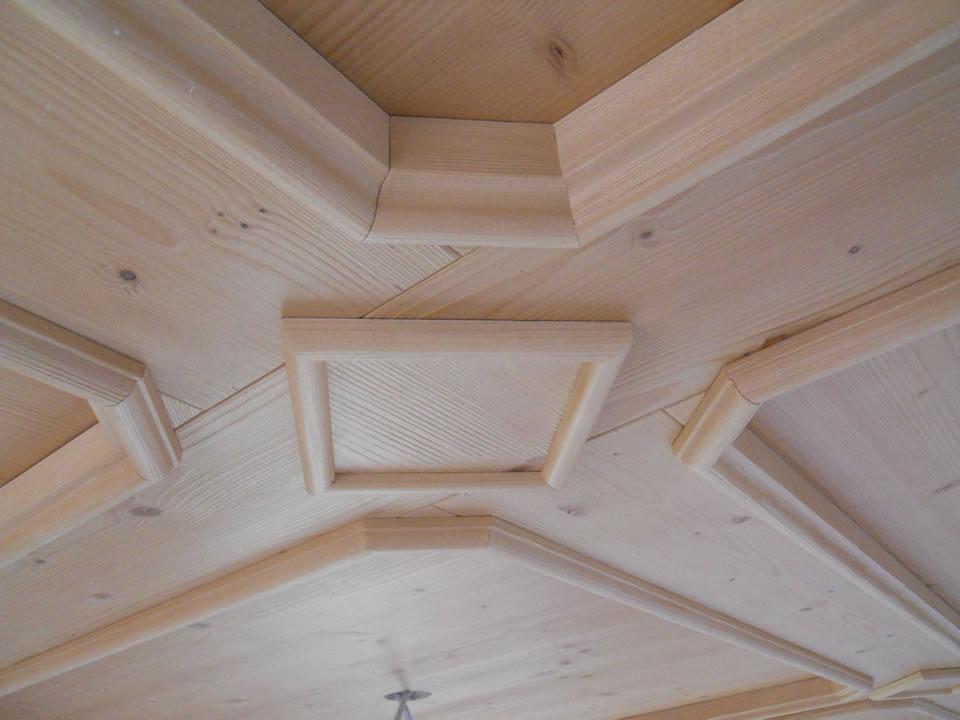 controsoffitto27 Controsoffitti in legno