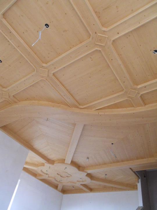 controsoffitto28 Controsoffitti in legno