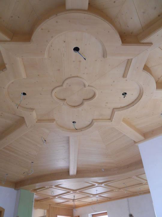 controsoffitto29 Controsoffitti in legno