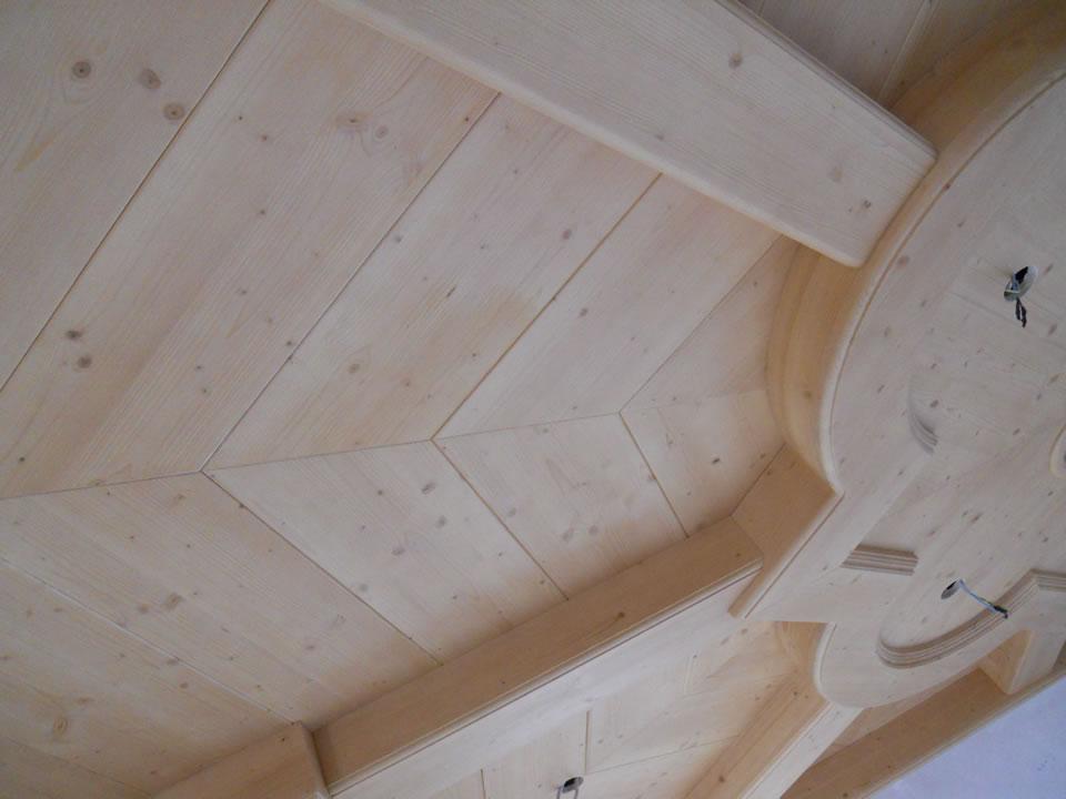 controsoffitto30 Controsoffitti in legno