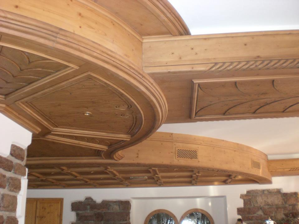 controsoffitto6 Controsoffitti in legno