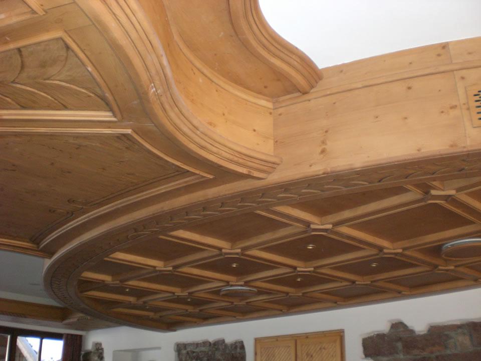controsoffitto7 Controsoffitti in legno